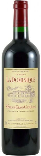 Вино Chateau la Dominique St-Emilion Grand Cru Classe AOC, 2001