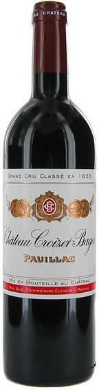 Вино Chateau Croizet-Bages 5-me Grand Cru Classe, 2004
