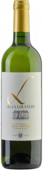 """Вино Andre Lurton, """"L De La Louviere"""" Blanc, 2014"""
