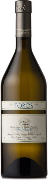 Вино Toros Franco, Pinot Grigio, Collio DOC, 2013