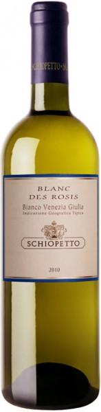 "Вино ""Blanc des Rosis"", Venezia-Giulia Bianco IGT, 2010"