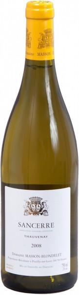 Вино Domaine Masson-Blondelet Sancerre Blanc Thauvenay 2008