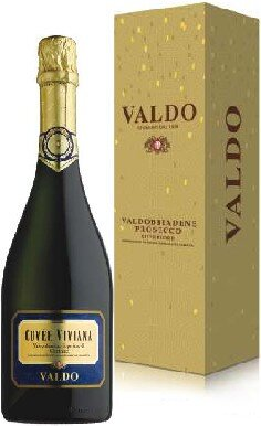 "Игристое вино Valdo, ""Cuvee Viviana"" Valdobbiadene Superiore di Cartizze DOCG, gift box"