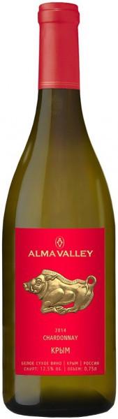 "Вино ""Alma Valley"" Chardonnay, 2015"