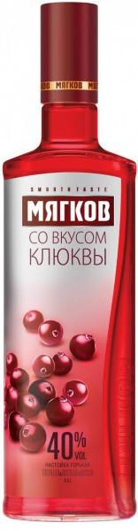 """Водка """"Myagkov"""" Cranberry, 0.5 л"""