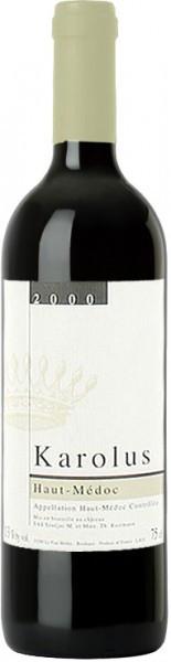 Вино Chateau Karolus Haut-Medoc AOC, 2000
