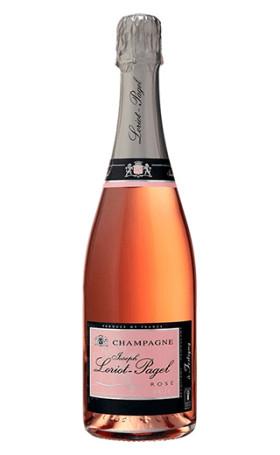 Шампанское Champagne Loriot-Pagel Rose Brut 0.75л