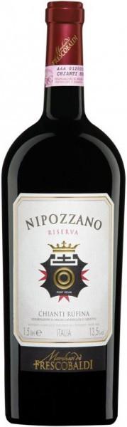"""Вино """"Nipozzano"""" Chianti Rufina Riserva DOCG, 2009, 1.5 л"""