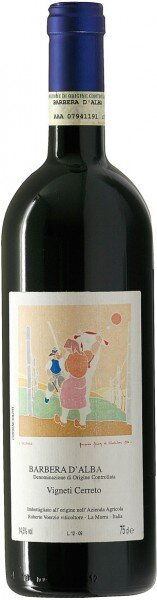 "Вино Roberto Voerzio, Barbera d'Alba ""Vigneti Cerreto"", 2011"