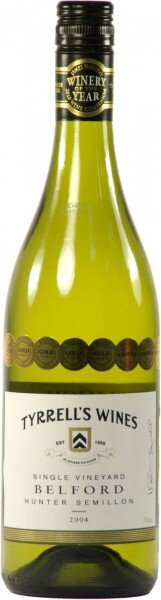 "Вино Tyrrell's Wines, Single Vineyard ""Belford"", Semillon, 2004"