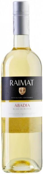 "Вино Raimat, ""Abadia"" Blanc de Blancs, Costers del Segre DO, 2015"