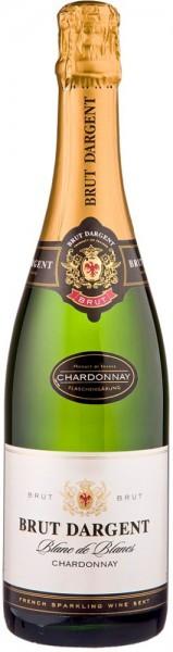 """Игристое вино """"Brut Dargent"""" Blanc de Blanc Chardonnay, 2014"""