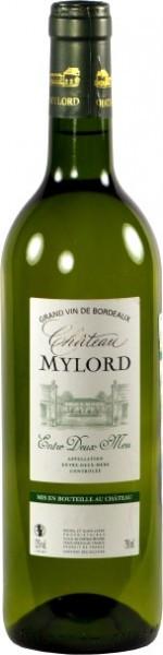 Вино Chateau Mylord Blanс, Entre-Deux-Mers AOC, 2011