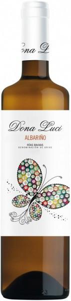 "Вино Vinigalicia, ""Dona Luci"" Albarino, Rias Baixas DO, 2015"