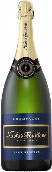 Шампанское Nicolas Feuillatte, Brut Reserve Particuliere, 1.5 л
