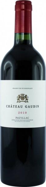 Вино Chateau Gaudin, Pauillac AOC, 2010