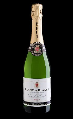 Шампанское Duc d'Henry Blanс de Blanс gift box 0.75л