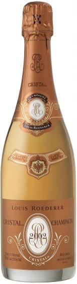 Шампанское Cristal Rose AOC 2002