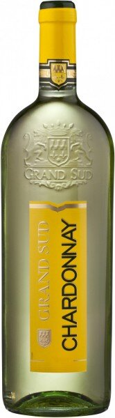 "Вино ""Grand Sud"" Chardonnay, 2013, 1 л"