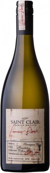 "Вино Saint Clair, Pioneer Block 1 ""Foundation"" Sauvignon Blanc, 2015"