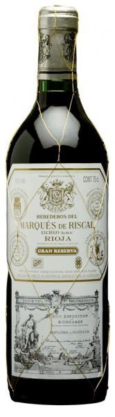 """Вино """"Herederos del Marques de Riscal"""" Rioja DOC Gran Reserva, 2005"""