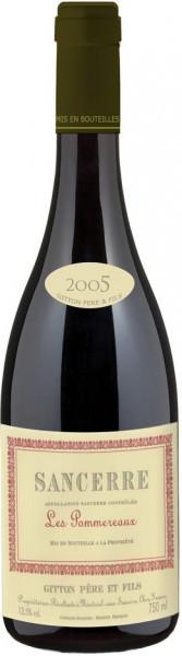 """Вино Gitton Pere & Fils, """"Les Pommereaux"""", Sancerre AOC, 2005"""