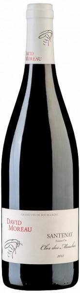 "Вино David Moreau, Santenay 1-er Cru ""Clos des Mouches"" AOC, 2013"