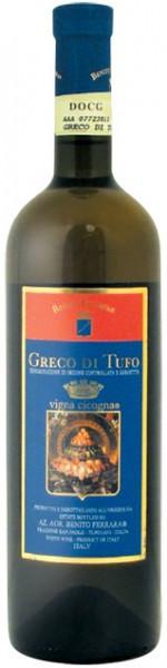 Вино Benito Ferrara, Greco di Tufo Vigna Cicogna DOCG, 2010