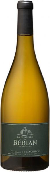 """Вино """"La Chapelle de Bebian"""" Blanc, Coteaux du Languedoc AOC, 2015"""