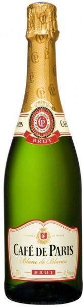 "Игристое вино ""Cafe de Paris"" Blanc de Blancs, Brut"
