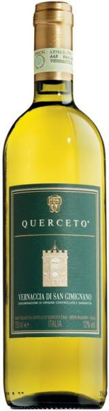 """Вино Vernaccia di San Gimignano """"Querceto"""", Toscana DOCG, 2014"""