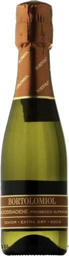"""Игристое вино Bortolomiol, """"Senior"""" Extra Dry, VValdobbiadene Prosecco Superiore DOCG, 0.2 л"""