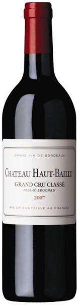 Вино Chateau Haut-Bailly, Pessac-Leognan AOC, 2007