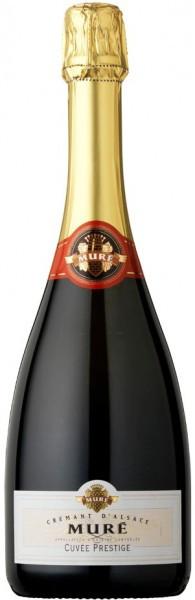 "Игристое вино Rene Mure, Cremant d'Alsace ""Cuvee Prestige"" Brut"