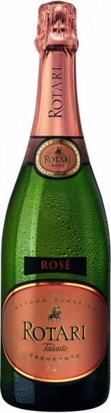 Игристое вино Rotari Talento Rose, Trento DOC