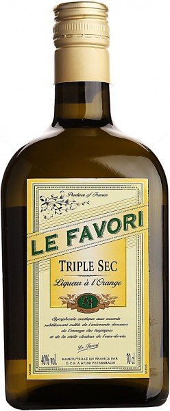 "Ликер ""Le Favori"" Triple Sec, 0.7 л"