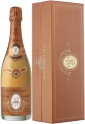Шампанское Cristal Rose AOC 2002, gift box