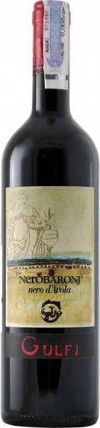 "Вино Gulfi, ""NeroBaronj"" Nero d'Avola, Sicilia IGT, 2008"
