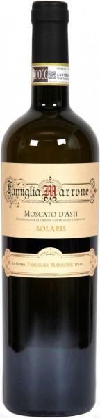 "Вино Famiglia Marrone, ""Solaris"", Moscato d'Asti DOCG"