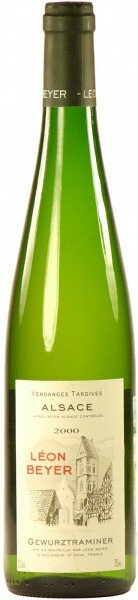 Вино Leon Beyer, Gewurztraminer Vendange Tardive, Alsace AOC, 2000