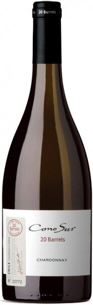 Вино Cono Sur 20 Barrels Chardonnay Limited Edition Casablanca Valley DO 2008