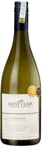 Вино Saint Clair, Omaka Reserve Chardonnay, 2012