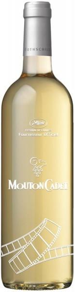 """Вино """"Mouton Cadet"""" Bordeaux AOC Blanc, Limited Edition Cannes, 2016"""