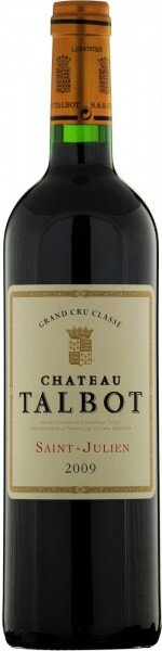 Вино Chateau Talbot, St-Julien AOC 4-me Grand Cru Classe, 2014, 0.375 л