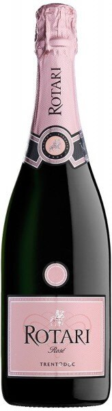 Игристое вино Rotari, Rose Brut, Trento DOC
