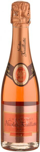 Шампанское Nicolas Feuillatte, Brut Rose, 0.375 л