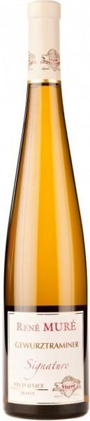 "Вино Rene Mure, ""Signature"" Gewurztraminer, Alsace AOC, 2013, 0.375 л"