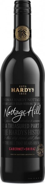 "Вино Hardys, ""Nottage Hill"" Cabernet-Shiraz, 2011"
