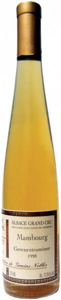 """Вино Domaine Marc Tempe, """"Mambourg"""", Selection de Grains Nobles, 1998, 0.375 л"""