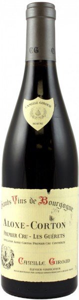 "Вино Camille Giroud, Aloxe-Corton 1er Cru ""Les Guerets"" AOC, 2002"